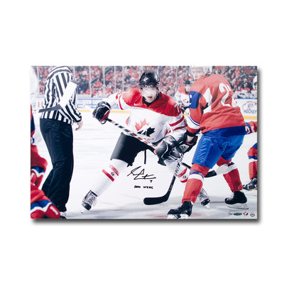 "Sean Couturier Autgraphed and Inscribed ""2011 WJHC"" Team Canada 24x16 Photo  - Limtied to 25"