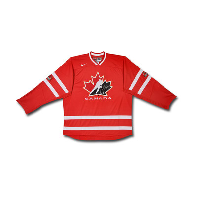 Sean Couturier Autographed Team Canada Nike Replica Red Jersey  - Limited to 14