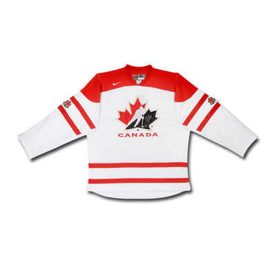 Sean Couturier Autographed Team Canada Nike Replica White Jersey  - Limited to 14