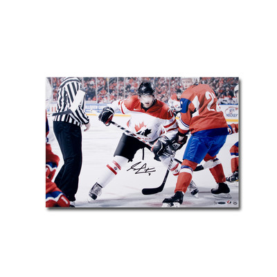 Sean Couturier Autographed Team Canada 24x16 Photo  - Limited to 30