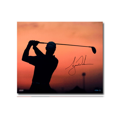 "Tiger Woods Autographed ""Sunrise"" 20x24 Photo"