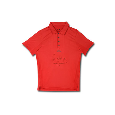 "Rory McIlroy Autographed and Inscribed ""2012 PGA Champ"" Oakley Red Polo  - Limited to 25"