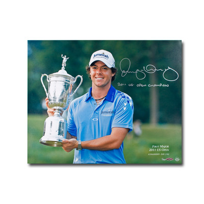 "Rory McIlroy Signed and Inscribed ""2011 US Open Champ"" First Major 16x20  - Limited to 250"