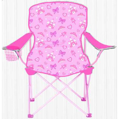 Children Foldable Camping Chair - SIZZLIN COOL PINK