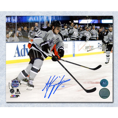 Anze Kopitar Los Angeles Kings Autographed Outdoor Game 8x10 Photo