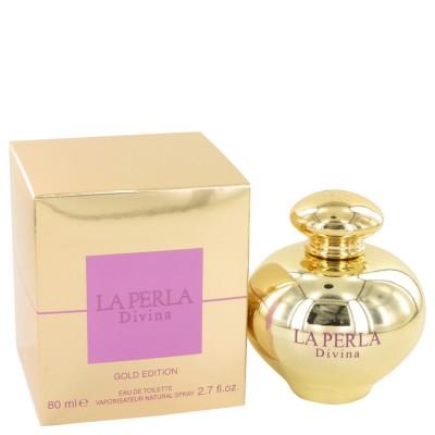 La Perla Divina Gold 80 ml Eau De Toilette Spray for Women