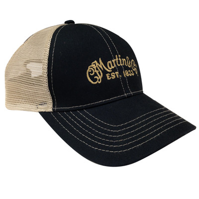 Martin Guitar Mesh Trucker Hat with CFM Logo - Martin Guitar - 18NH0030