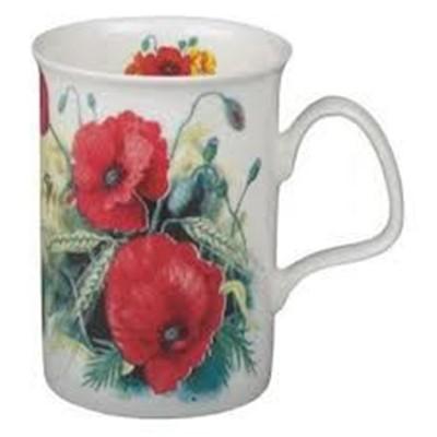 Lancaster Mug - Poppy Set of 6