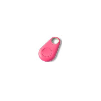 Smart Anti-Lost Alarm Bluetooth Remote Shutter GPS Tracker for Kids, Keys & Pets - Pink (3in1tracker-Pink)