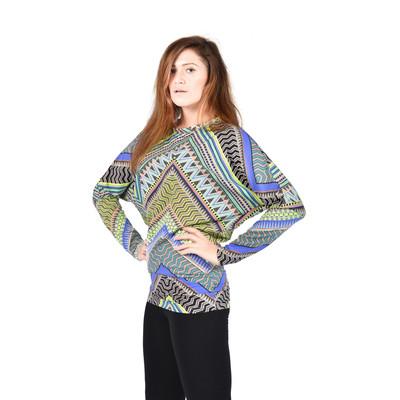Bluberry women's Batt sleeve top
