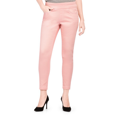 Bluberry Dawn pink ankle length slim leg denim