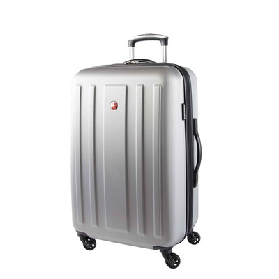 "Swiss Gear La Sarinne Collection 24"" Expandable Silver Spinner"