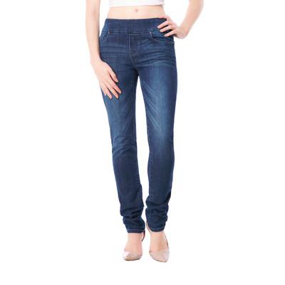 Bluberry women's Sienna medium wash slim leg denim