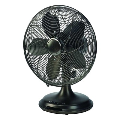 Ecohouzng 12 inch Retro Desk Fan
