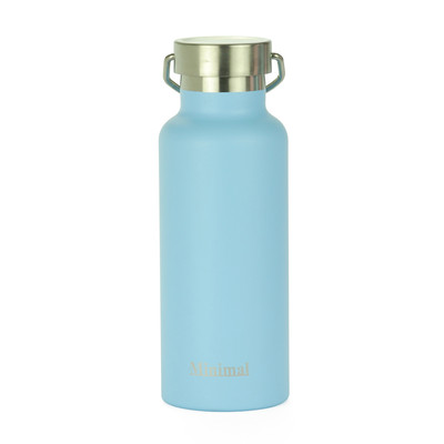 Minimal Stainless Steel Insulated Flask - Limpet 500ml