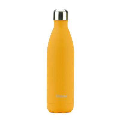 Minimal Stainless Steel Insulated Bottle - 750ml Orange