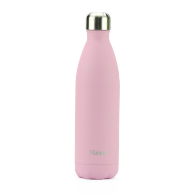 Minimal Stainless Steel Insulated bottle - 750ml Rose