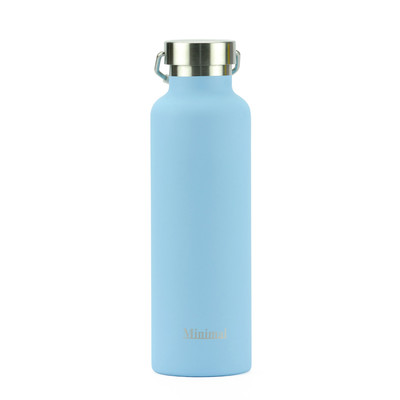Minimal Stainless Steel Insulated Flask - Limpet 750m