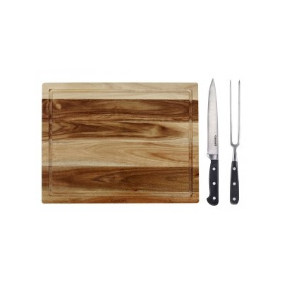 Cuisinart Carving Board Set - w/Carving Knife & Fork