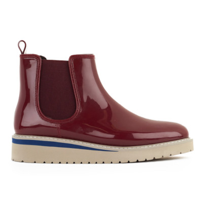 Women's Cougar 'Kensington' Rubber Boot in Port