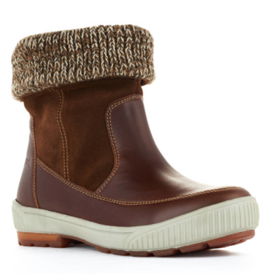Women's Cougar 'Willow Ranchero' Winter Boot in Dark Brown and Chesnut