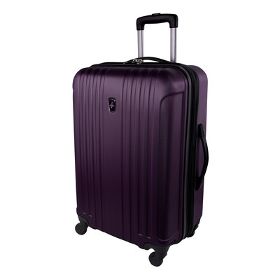 "Atlantic Necessity Lite Collection 24"" Expandable Purple Spinner Upright"