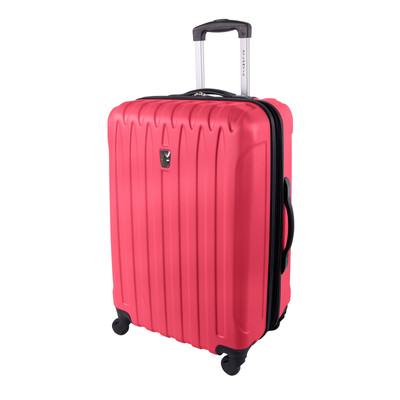 "Atlantic Necessity Collection 24"" Expandable Dark Pink Spinner Upright"