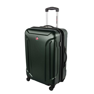 "Swiss Gear Bern Lite 24"" Forest Green Expandable Spinner Upright"