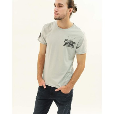 Buffalo Jeans NASOUND CREW NECK PRINT TEE