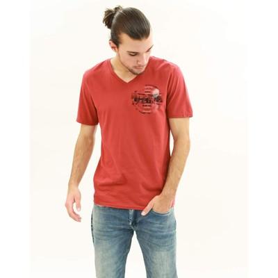 Buffalo Jeans NARAW V-NECK PRINT TEE