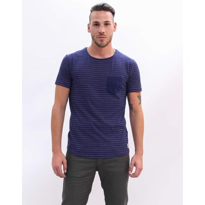 Tom Tailor  STRIPED TEE WITH POCKET