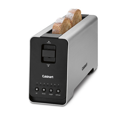 Cuisinart-Refurbished 2-Slice Motorized Long-Slot Toaster, Manufacturer Recertified (CPT-2000)