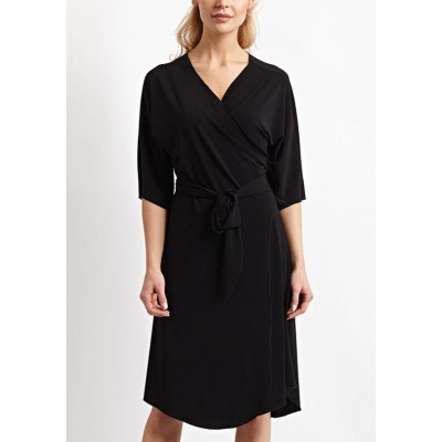 More Than A Wrap Dress - Black