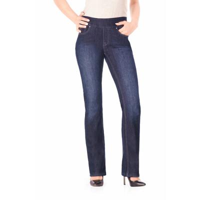Bluberry women's Edith Dark Vavy Straight leg denim