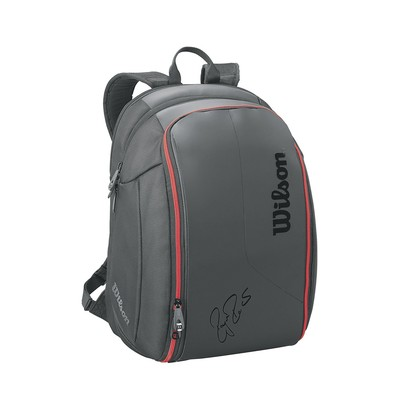 Wilson Roger Federer DNA Backpack Tennis Bag Black 2016