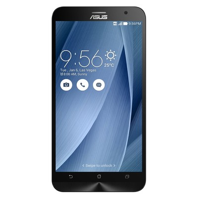 Asus-Refurbished Zenfone 2 Unlocked Smartphone, 5.5-inch, 64GB, Silver, Dual SIM, Refurbished, English ?(AS-CEPH-ZE551ML64)
