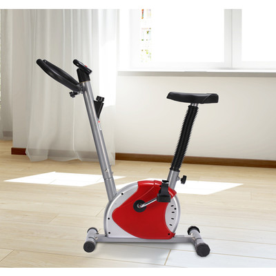 Soozier Belt Exercise Bike Cycling Trainer Fitness Machine Home w/ Display
