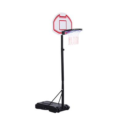Soozier Portable Basketball Stand System Junior Adjustable W/ Wheels