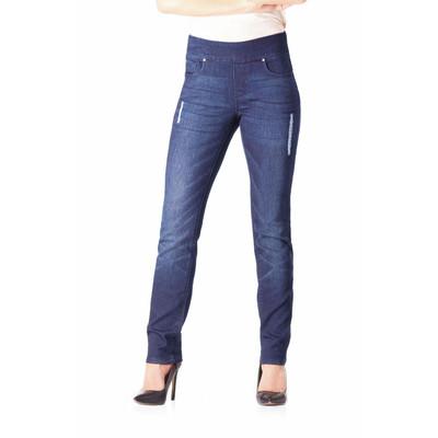 Bluberry women's Mia Rinse Blue slim leg denim