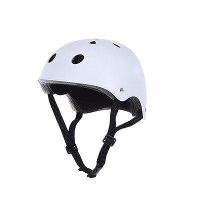 Soozier Sports Protect Helmet M Kid Adult Bike Cycling Scooter Skate Skateboard, White
