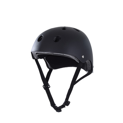 Soozier Medium Sports Helmet Kid Adult Protect Cycling Scooter Skate Skateboard, Black