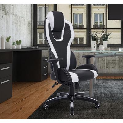 HOMCOM Executive Office Chair High Back Racing Gaming Chairs Ergonomic