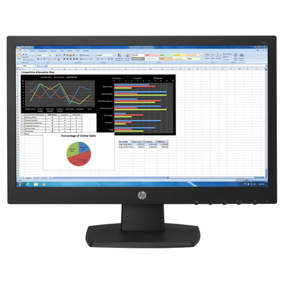 "HP V223 21.5"" LED LCD Monitor, English (V5G70A6#ABA)"