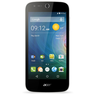 Acer-Refurbished Liquid Z320 Unlocked Smartphone, 4.5-inch 8GB, Refurbished, English (AC-CEPH-Z320R1)