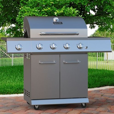 Dyna-Glo DGE486SSP-D 4 Burner Stainless LP Gas Grill