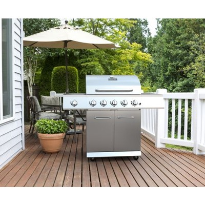 Dyna-Glo DGE530SSP-D 5 Burner Stainless Steel LP Gas Grill