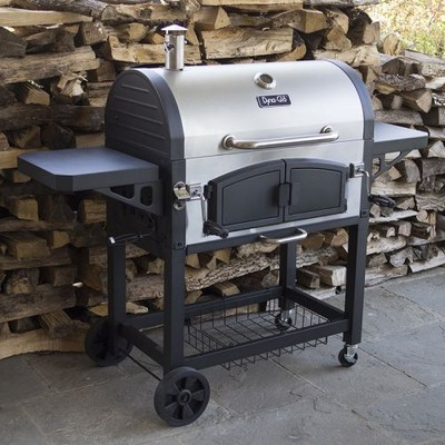 Dyna-Glo X-Large Premium Dual Chamber Charcoal Grill
