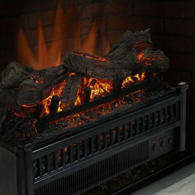 Pleasant Hearth - Electric Log Insert with Heater