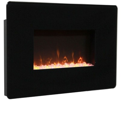 """Muskoka MH25BL 25"""" Wallmount Fireplace"""