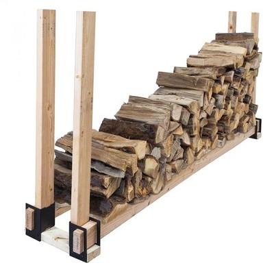 4 Pc Log Brackets